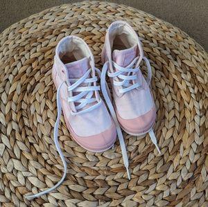 Palladium girls pampa high sneakers 12 size